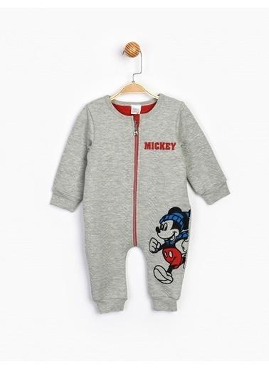 Mickey Mouse  Kapitone Bebek Tulum 16198 Gri